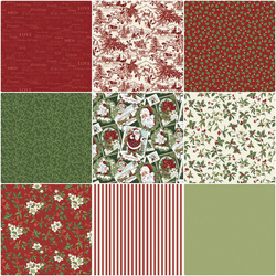 Designer Monday - Northcott Christmas Classics by Deborah Edwards