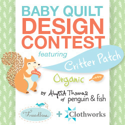Baby Quilt Design Contest - Featuring Critter Patch!