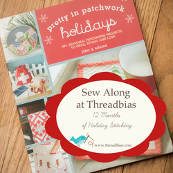 Pretty in Patchwork Holidays Sew Along - October