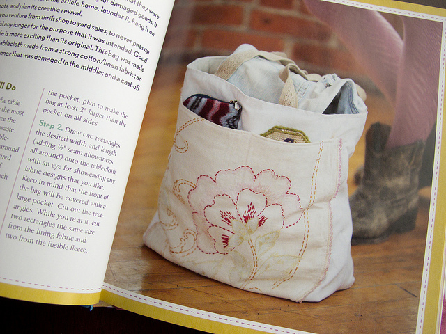 Repurposed Mending Bag