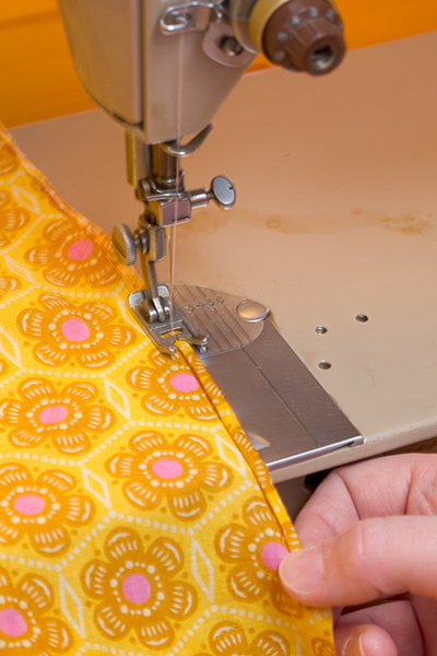 Hemming the Long Sides