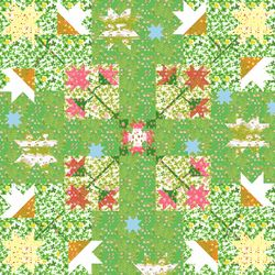 Briar Rose Summer Meadow Picknick blanket