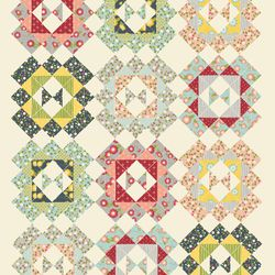 Granny's Wild - Wallflowers Quilt Design Contest