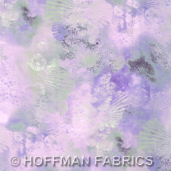 Hoffman California Fabrics Sand In My Shoes Sand In My Shoes Crystal PN038 330-Crystal Crystal by McKenna Ryan