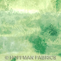 Hoffman California Fabrics Sand In My Shoes Sand In My Shoes Grass PN040 115-Grass Grass by McKenna Ryan
