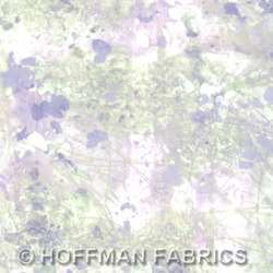Hoffman California Fabrics Sand In My Shoes Sand In My Shoes Crystal PN037 330-Crystal Crystal by McKenna Ryan