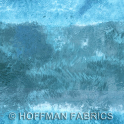 Hoffman California Fabrics Sand In My Shoes Sand In My Shoes Ocean PN040 73-Ocean Ocean by McKenna Ryan