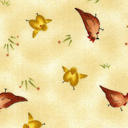 Red Rooster Fabrics Happily Ever After Happily Ever After BEIGE #17129-BEI1 BEIGE by Jacqueline  Paton