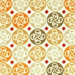Red Rooster Fabrics Neutral Territory Neutral Territory ORANGE #19417-ORA1 ORANGE