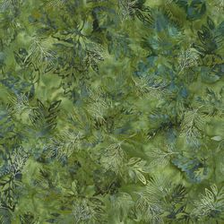 Robert Kaufman Fabrics Artisan Batiks: Northwoods AMDM-9364-240 HOLLY by   Lunn Studios
