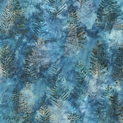 Robert Kaufman Fabrics Artisan Batiks: Northwoods AMDM-9362-80 EVENING by   Lunn Studios