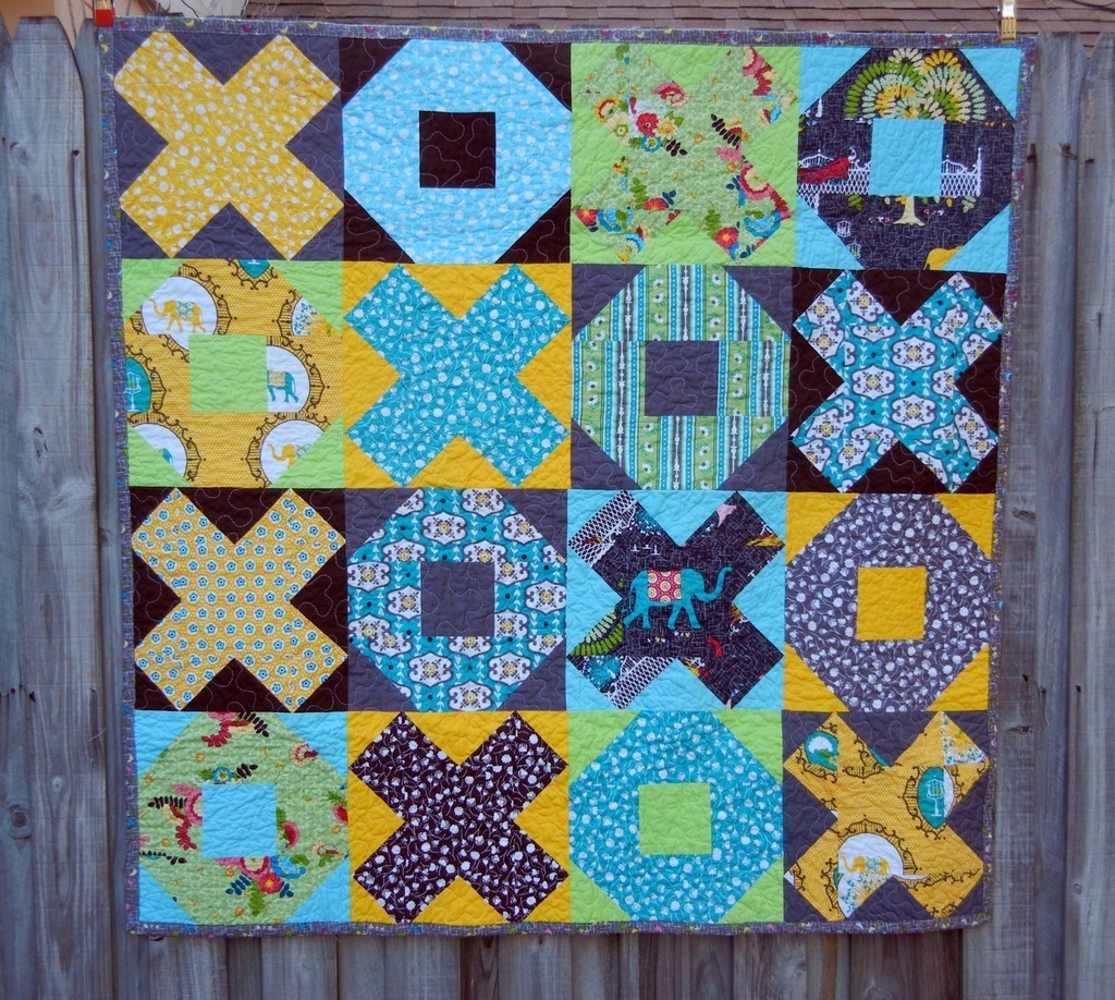 Xs and Os Quilt Pattern by Dontcallmebetsy's Shop