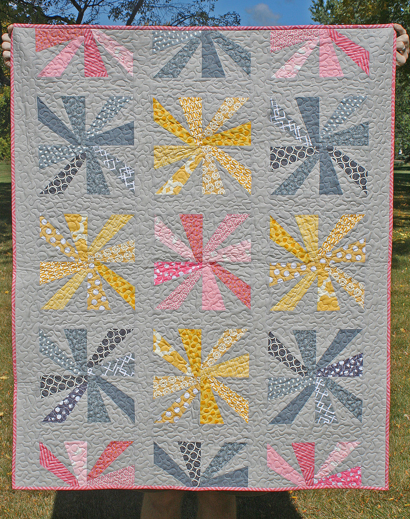 Cartwheels Quilt by Freshly Pieced