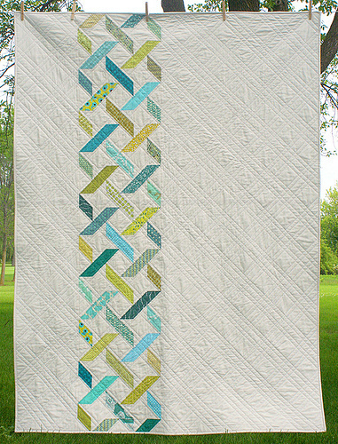 Diamond Tread Quilt Pattern by Freshly Pieced