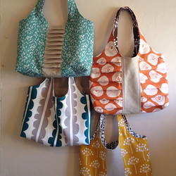 Pretty Pleats Tote Pattern