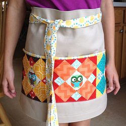 Polka Dot Cafe Apron