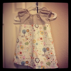 A Sweet Little Kitten Dress