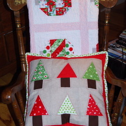 Reindeer Grove Pillow