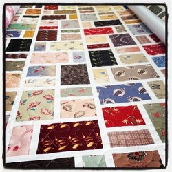 Japanese Fabric Fusion Quilt
