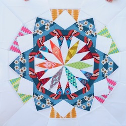 Celestial Star Quilt Block: 1 of 12