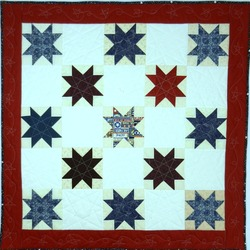 Two Veteran Quilt Finishes