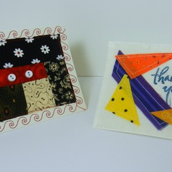 Thank You Fabric Cards