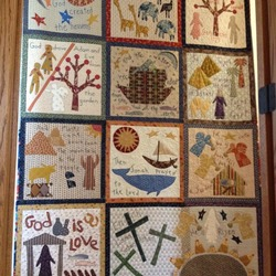 Japanese Bible Quilt