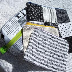 Neverending Swap-March Zipper Pouches