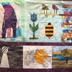 Traveling Bee-utilful Quilting Bee