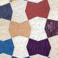 One-patch Charm quilt