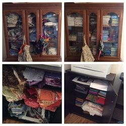 Summer 2015 Sewing Room Clean Up and Out
