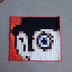 Pixelated Orange aka A Blockwork Orange