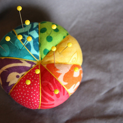 Rainbow Pincushion